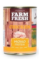 Topstein Farm Fresh Dog Monoprotein Chicken 800 g