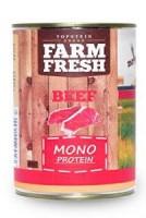 Topstein Farm Fresh Dog Monoprotein Beef 800 g