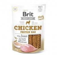 Brit pamlsky Jerky Chicken with Insect Protein Bar 80 g