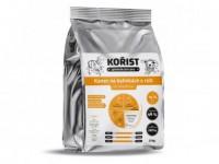 Kořist granule Kanec na bylinkách s rýží 26/14  3 kg
