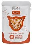 Brit Care Cat kaps. - Chicken & Cheese 80 g