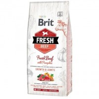 Brit Fresh Beef Pumpkin Puppy Large Bones Joints 12 kg