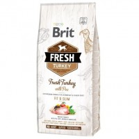 Brit Fresh Turkey Pea Adult Fit Slim 12 kg