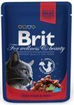 Brit Premium Cat kaps. - Beef Stew & Peas 100 g