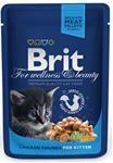 Brit Premium Cat kaps. - Chicken Chunks for Kitten 100 g
