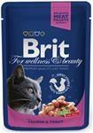 Brit Premium Cat kaps. - Salmon & Trout 100 g