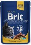 Brit Premium Cat kaps. - Chicken & Turkey 100 g