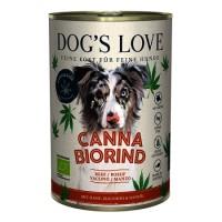 Dogs Love Canna Bio Hovězí Adult konzerva 400 g