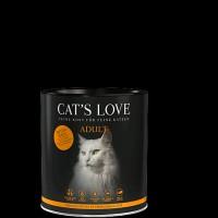 Cats Love Adult Krůta, Zvěřina 400 g