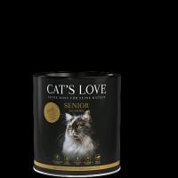 Cats Love Senior Kachna 400 g