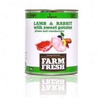 Topstein Farm Fresh Lamb Rabbit with Sweet Potato Plum 800 g