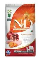 N&D Grain Free Pumpkin DOG Adult Mini Chicken&Pomegranate 2,5 kg