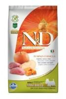 N&D Grain Free Pumpkin DOG Adult Mini Boar & Apple 2,5 kg