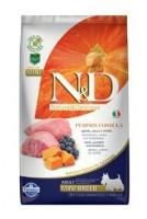 N&D Grain Free Pumpkin DOG Adult Mini Lamb & Blueberry 2,5 kg