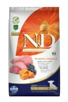 N&D Grain Free Pumpkin DOG Puppy Mini Lamb & Blueberry 7 kg