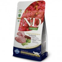 N&D GF Quinoa Cat Weight Mngmnt Lamb/Broccoli 1,5 kg