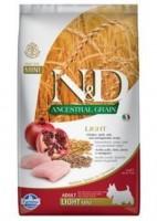 N&D Low Grain DOG Light Mini Chicken & Pomegr 2,5kg