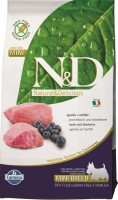 N&D PRIME Dog Grain Free Adult Mini Lamb & Blueberry 2,5 kg