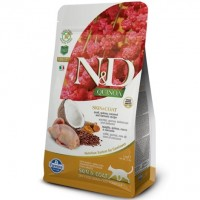 N&D GF Quinoa Cat Skin Coat Quail/Coconut 1,5 kg