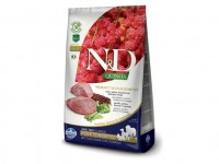 N&D GF Quinoa DOG Weight Mnmgnt Lamb&Broccoli 2,5kg