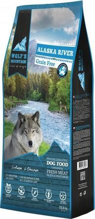 Wolf's Mountain Dog Alaska River Grain Free 12,5 kg
